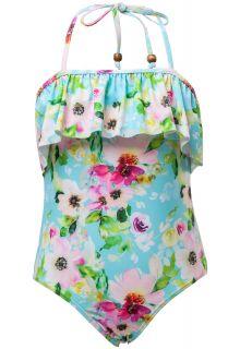 Snapper-Rock---UV-bathing-suit---Watercolor-Floral---Blue/Pink