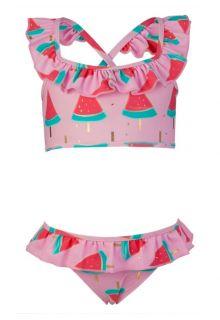 Snapper-Rock---Sports-Ruffle-Bikini---Watermelon