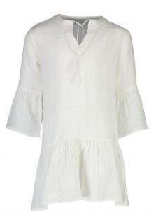 Snapper-Rock---Organic-Cotton-Kaftan-for-girls---White