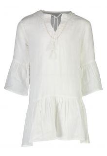 Snapper-Rock---Organic-Cotton-Kaftan-for-girls---White