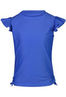 Snapper-Rock---UV-Swim-shirt-for-girls---Flutter-sleeve---Blue-