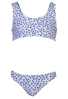 Snapper-Rock---Reversible-Bow-Bikini-for-girls---Cheetah-Spot---Blue/White