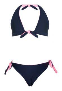 Snapper-Rock---Reversible-bikini---Navy/Ballet-Pink-