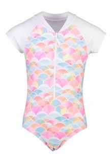Snapper-Rock---Short-sleeve-UV-Bathingsuit-for-girls---Rainbow-Connection---Multi