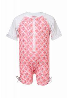 Snapper-Rock---baby-UV-suit-Diamond---Pink