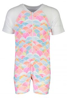 Snapper-Rock---UV-Swimsuit-with-short-sleeves---Rainbow-Connection---Multi