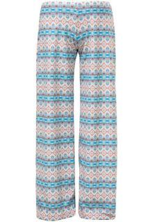 Snapper-Rock---UV-beach-pants-for-swimming---Marrakesh---White/Turquoise/Orange