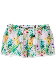 Snapper-Rock---Swim-shorts-for-girls---Tropicana---Pink