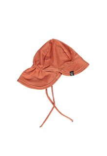 Beach-&-Bandits---UV-Sun-hat-for-kids---Ribbed---Clay