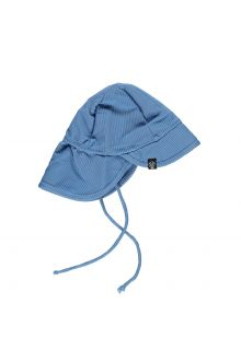 Beach-&-Bandits---UV-Sun-hat-for-kids---Ribbed---Reef-Blue