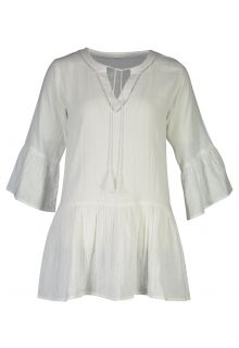 Snapper-Rock---Organic-Cotton-Kaftan-for-women---White