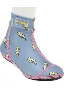 Duukies---Girls-UV-Beach-Socks---Lightning-Blue---Lightblue