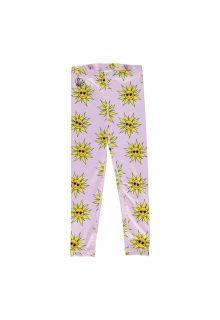 Beach-&-Bandits---UV-Swim-leggings-for-girls---Sunny-Flower---Pink