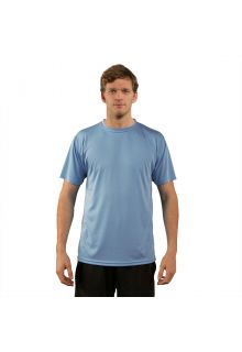 Vapor-Apparel---Men's-UV-shirt-with-short-sleeves---light-blue