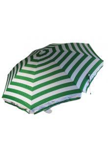 Banz---UV-Beach-umbrella---165/200cm-x-180cm---Emerald-Green-Stripe