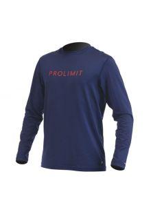 Prolimit---UV-shirt-for-men---Dark-blue-/-yellow