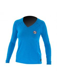 Prolimit---UV-shirt-for-women-with-long-sleeves---Bright-blue-/-pink