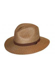 Rigon---UV-fedora-hat---Unisex---Chocolate-brown