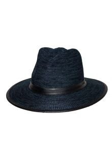 Rigon---UV-fedora-hat-for-men---Joel---Mixed-navy-blue