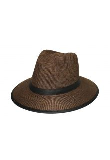 Rigon---UV-fedora-hat-for-men---Joel---Suede-brown