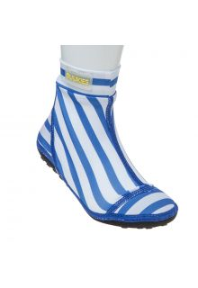 Duukies---Boys-UV-Beach-Socks---Stripe-Blue-White---Blue-Stripes