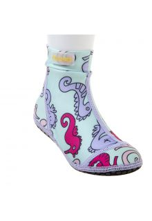 Duukies---Girls-UV-Beach-Socks---Seahorse---Light-Blue