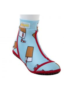 Duukies---Kids-UV-Beach-Socks---Straw-Lemonade---Light-Blue