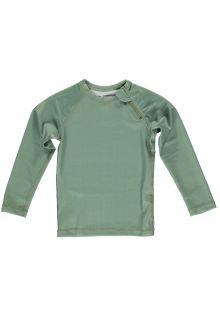 Beach-&-Bandits---UV-Swim-shirt-for-kids---Ribbed-Longsleeve---Basil