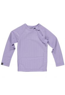Beach-&-Bandits---UV-Swim-shirt-for-kids---Ribbed-Longsleeve---Lavender