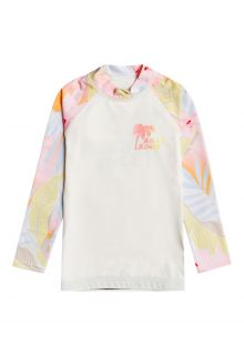 Billabong---UV-Rashguard-for-girls---Longsleeve---Billie-Logo---Salt-Crystal