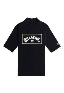 Billabong---UV-Rashguard-for-men---Short-sleeve---Unity---Black