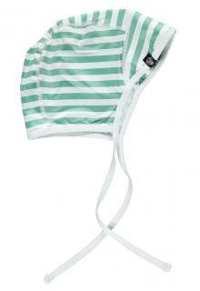 Beach-&-Bandits---Boys'-UV-hat---Beach-Boy---White/Green