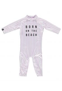 Beach-&-Bandits---UV-Swimsuit-for-babies---Beach-Girl---Pink/White