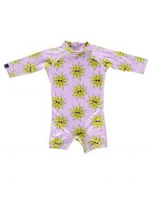 Beach-&-Bandits---UV-Swimsuit-for-babies---Sunny-Flower---Pink