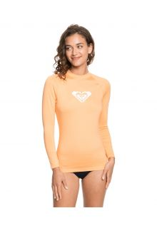 Roxy---UV-Swim-shirt-for-women---Longsleeve---Whole-Hearted---Salmon