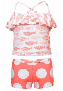 Snapper-Rock---Tankini-Spotty-Fish---Coral-red