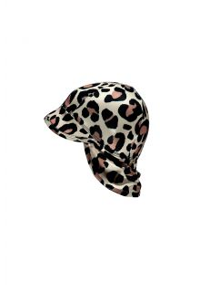 Beach-&-Bandits---UV-Sun-hat-for-babies---Leopard-Shark---Black/Multi