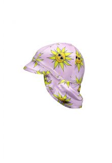 Beach-&-Bandits---UV-Sun-hat-for-babies---Sunny-Flower---Pink