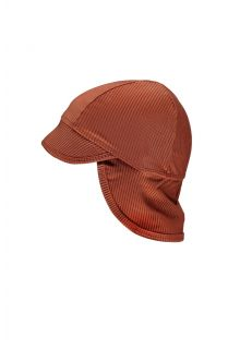 Beach-&-Bandits---UV-Sun-hat-for-babies---Ribbed-Collection---Earth