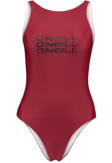 O'Neill---Performance-bathingsuit-for-women---Logo---Nairobi-Red