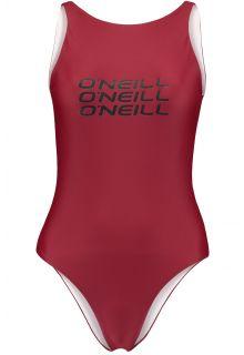 O'Neill---Performance-bathingsuit-for-women---Logo---Nairobi-Red