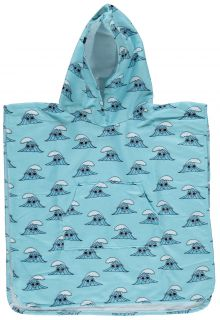 Beach-&-Bandits---UV-Poncho-for-boys---Surf's-Up---Lightblue