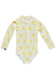 Beach-&-Bandits---UV-Swimsuit-for-girls---Aloha-Lemon---Yellow