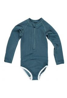 Beach-&-Bandits---UV-Swimsuit-for-girls---Ribbed-Collection---Ocean