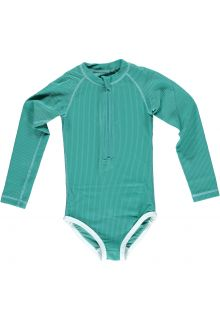 Beach-&-Bandits---UV-Swimsuit-for-girls---Ribbed-Collection---Lagune