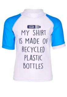 JUJA---UV-Swim-shirt-for-kids---short-sleeves---Made-of---White