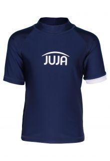 JUJA---UV-Swim-shirt-for-kids---short-sleeves---Solid---Darkblue