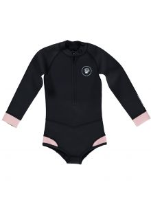 Beach-&-Bandits---UV-Wetsuit-for-girls---Blacktip-Girl---Black/Pink