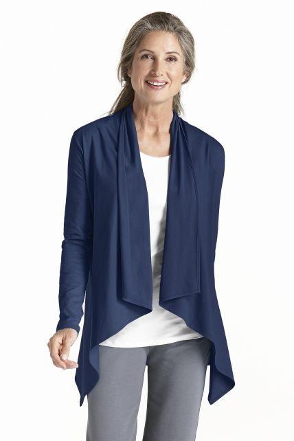 Coolibar---UV-Sun-Wrap-Vest-for-women---Marietas---Navy