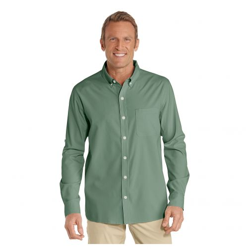 Coolibar---UV-shirt-for-men---green
